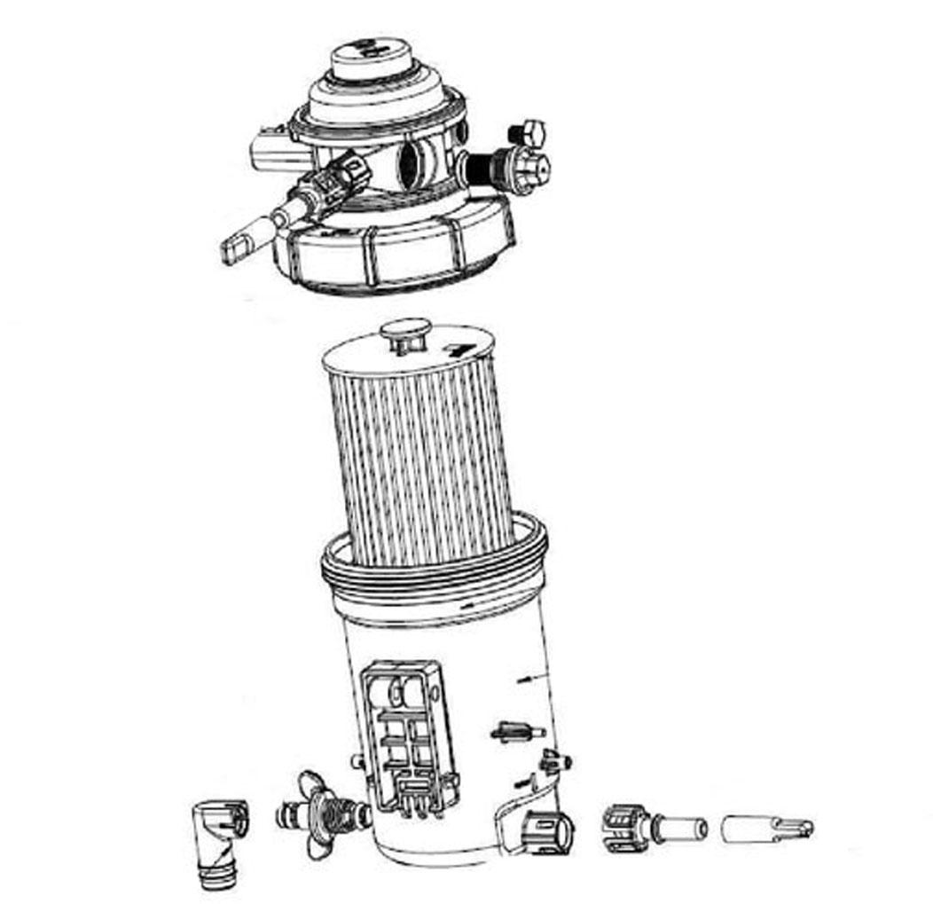 Устройство топливного фильтра Валдай