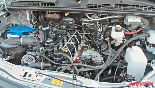 Двигатель Cummins в машине ГАЗель