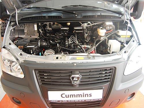 Газель с мотором Камминс