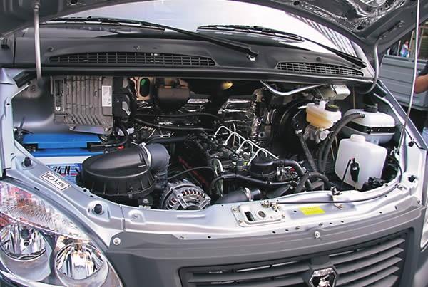 Двигатель камминз ISF 2.8 установленный на Газель