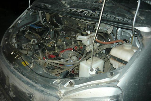 Двигатель машины ГАЗель