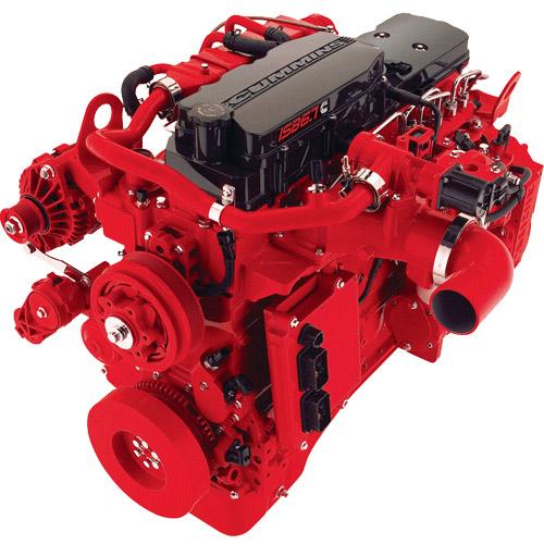Двигатель Cummins ISB6 300