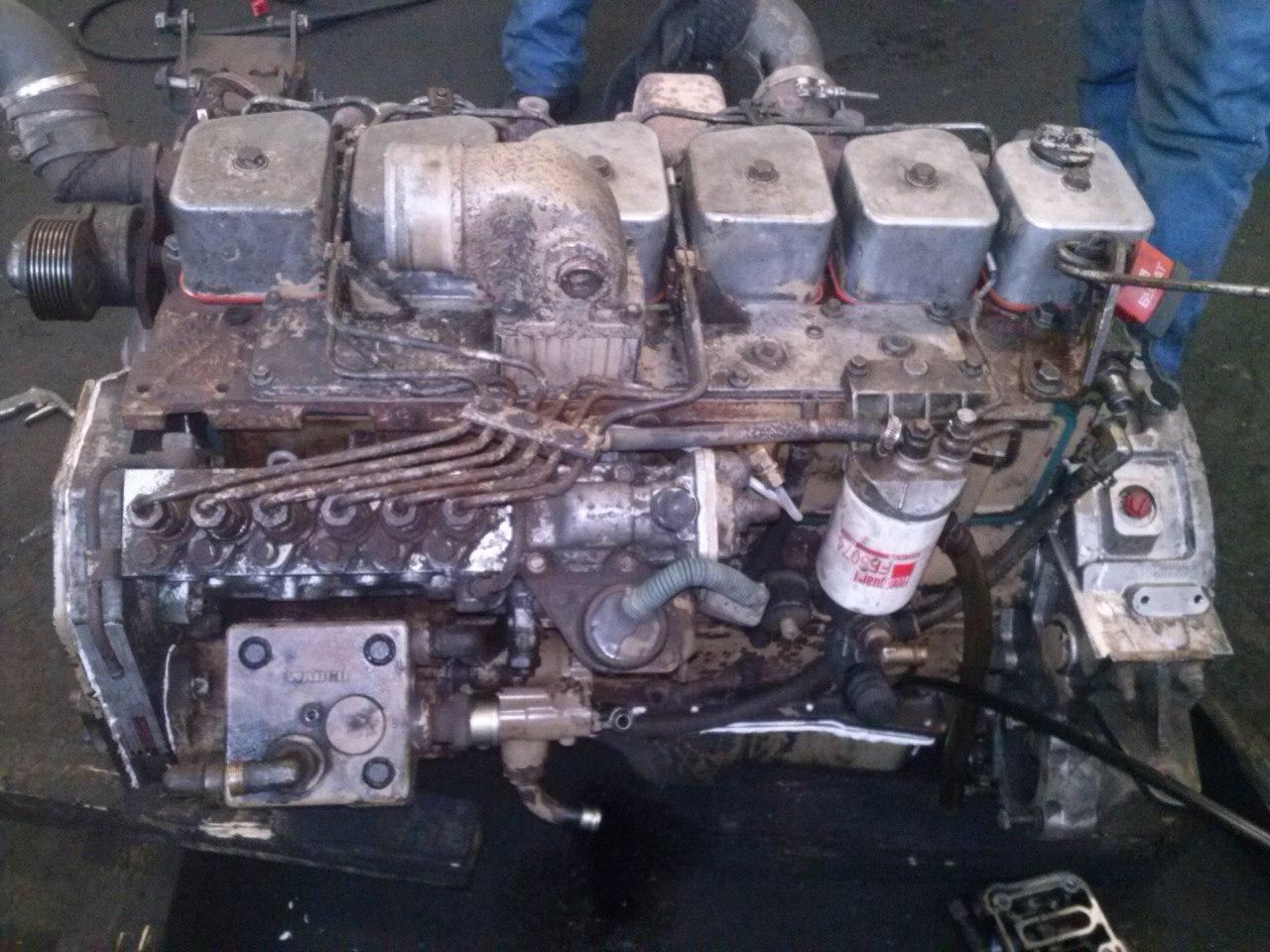Капитальный ремонт мотора Камминс