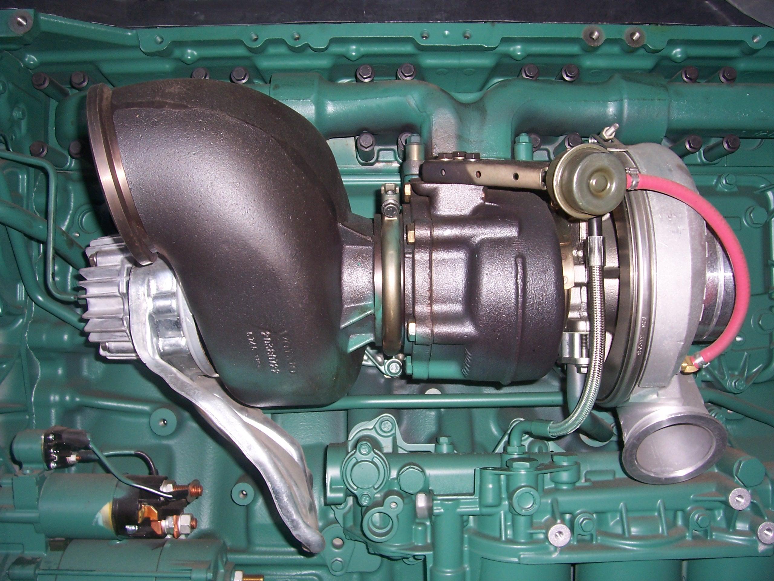 Турбина в дизельном двигателе