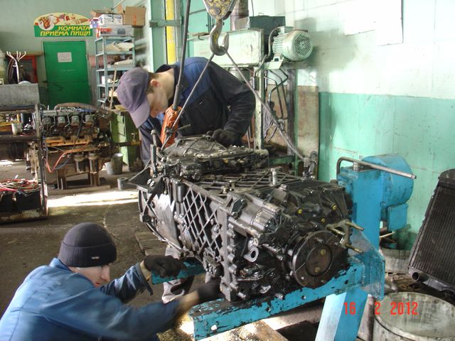 Диагностика и ремонт мотора Камминс