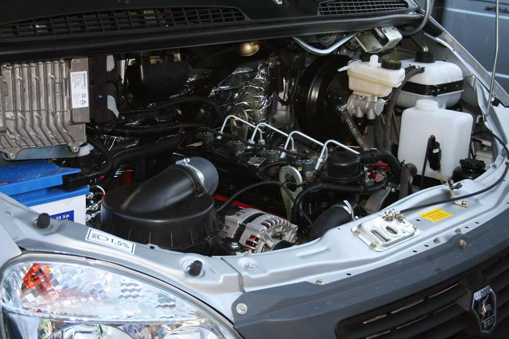 Газель с дизельным мотором Камминс